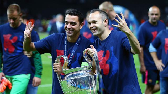 Ernesto Valverde has got the squad to guide Barcelona to Champions League glory this season, according to club legend Andres Iniesta.