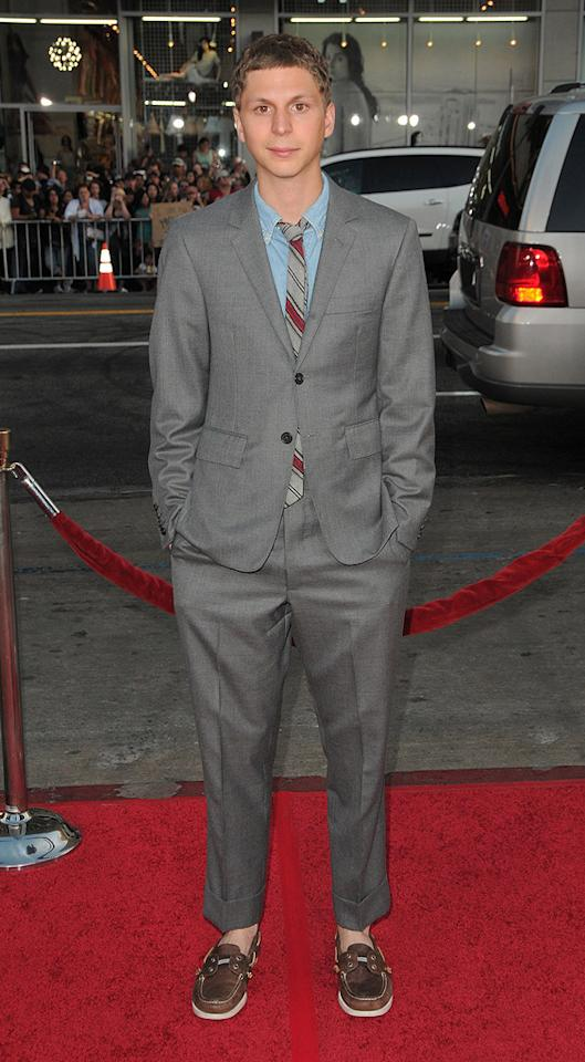 "<a href=""http://movies.yahoo.com/movie/contributor/1800361491"">Michael Cera</a> at the Los Angeles premiere of <a href=""http://movies.yahoo.com/movie/1810070753/info"">Scott Pilgrim vs. the World</a> - 07/27/2010"