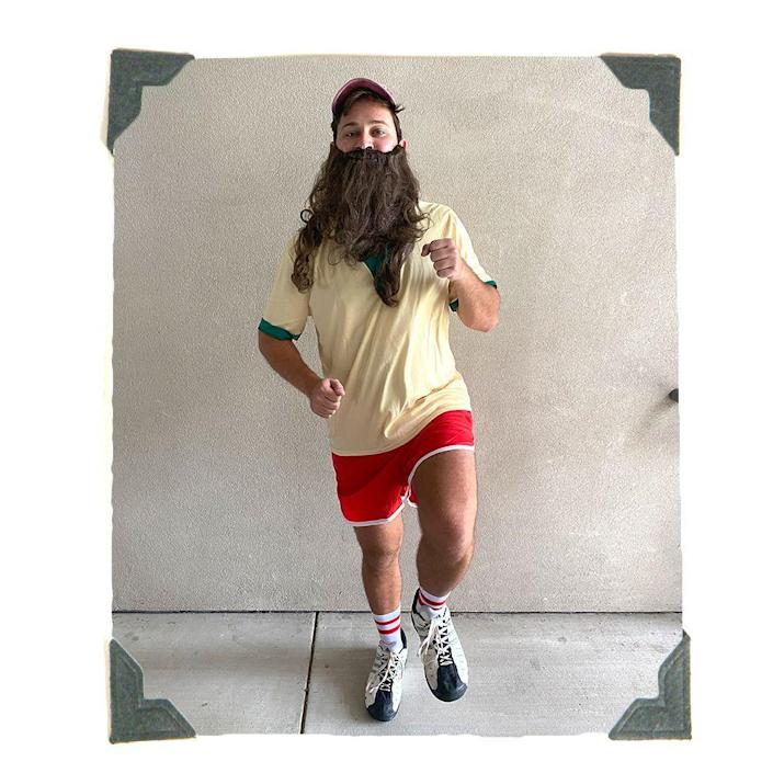 """<p><strong>halloweencostumes.com</strong></p><p>halloweencostumes.com</p><p><strong>$59.99</strong></p><p><a href=""""https://go.redirectingat.com?id=74968X1596630&url=https%3A%2F%2Fwww.halloweencostumes.com%2Frunning-forrest-gump-costume.html&sref=https%3A%2F%2Fwww.bestproducts.com%2Flifestyle%2Fnews%2Fg1771%2Ftop-trending-halloween-costumes%2F"""" rel=""""nofollow noopener"""" target=""""_blank"""" data-ylk=""""slk:Shop Costume"""" class=""""link rapid-noclick-resp"""">Shop Costume</a></p><p>""""Run, Forrest, run!"""" </p><p>If Forrest's 3-year, cross-country sprint has <em>you</em> inspired to embark on an epic journey of your own, wearing this iconic Forrest Gump costume is a great way to start. It comes with everything you need to hit the road, including elastic running shorts, an overgrown wig and beard, and of course, a Bubba Gump Shrimp Co. hat. </p>"""