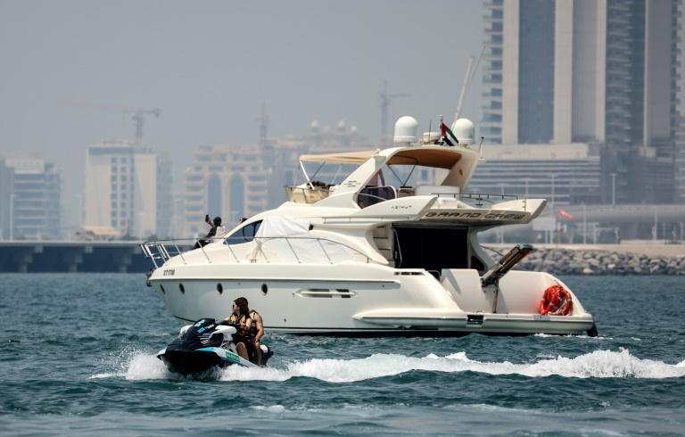 For the very wealthy in Dubai, food deliveries can be made to their yacht at sea by jet skis