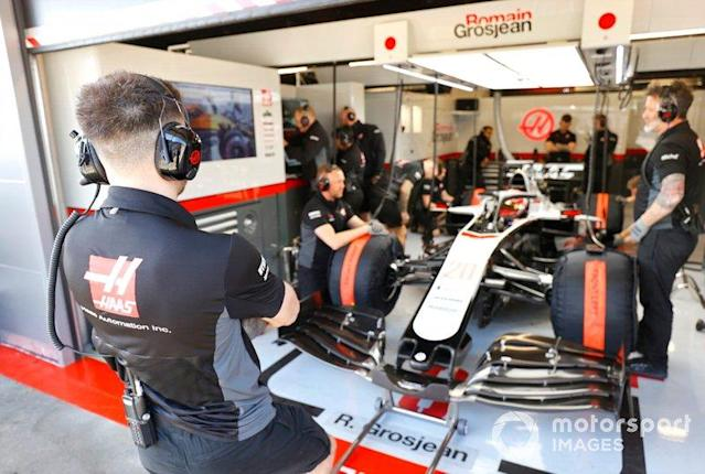 """Kevin Magnussen, Haas F1 Team VF-20 <span class=""""copyright"""">Andrew Hone / Motorsport Images</span>"""