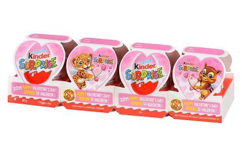 Kinder Surprise Train Valentines Chocolate. Image via Walmart.
