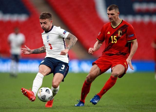 Kieran Trippier (left) is one of several players looking to cement a place in Southgate's side.