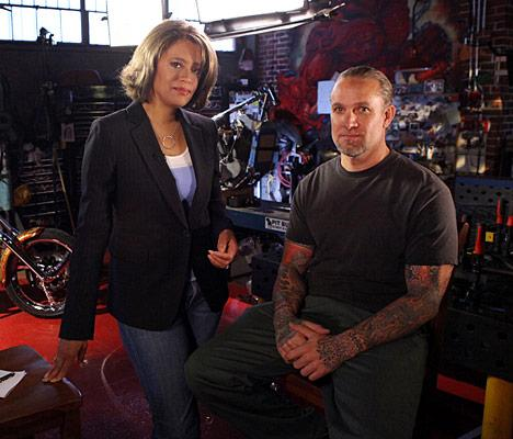 """In his first interview since the break-up of his marriage to Sandra Bullock, Jesse James sat down with """"Nightline's"""" Vicki Mabrey to tell his side of the story. He claimed that his history of abuse as a child led to his infidelity -- accusations his father has denied -- and that he wanted to get caught cheating as he figured Bullock was going to leave him anyway. """"I think I do things to sabotage my life,"""" said the former """"Monster Garage"""" host. Patrick Wymore/ABC"""