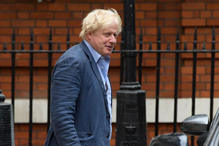 Former Foreign Secretary Boris Johnson on July 11. (Photo: Leon Neal/Getty Images)