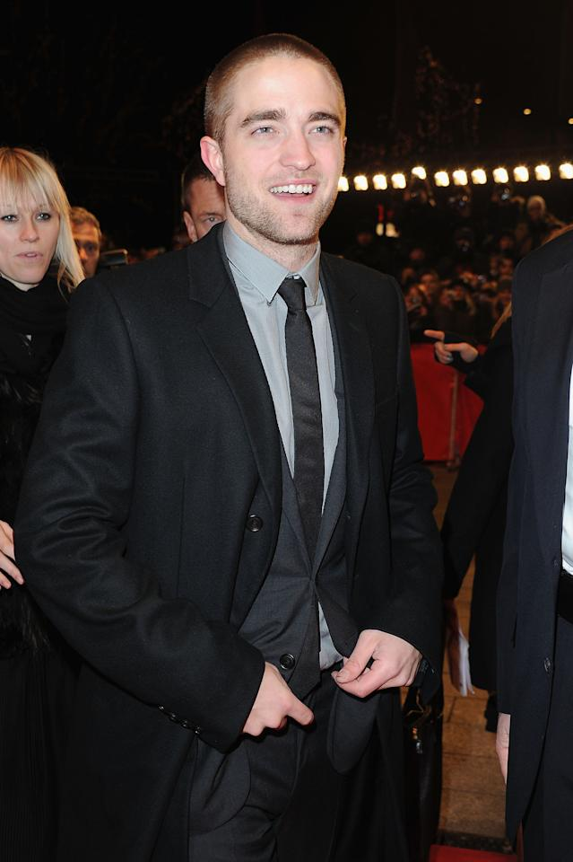 "BERLIN, GERMANY - FEBRUARY 17:  Actor Robert Pattinson attends the ""Ben Ami"" Premiere during day nine of the 62nd Berlin International Film Festival at the Berlinale Palast on February 17, 2012 in Berlin, Germany.  (Photo by Pascal Le Segretain/Getty Images)"
