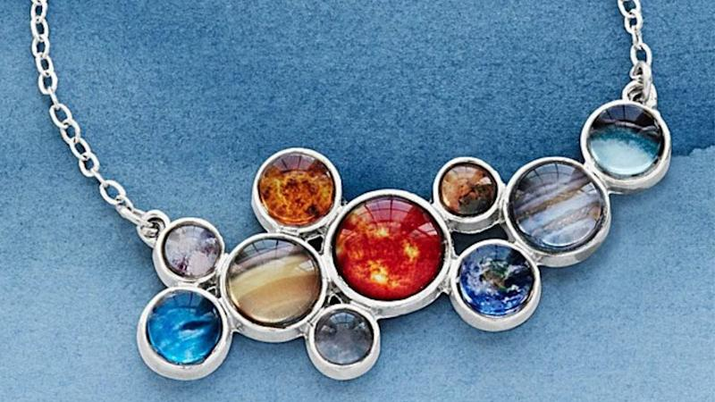 Best gifts for nerds 2019: Solar System Necklace