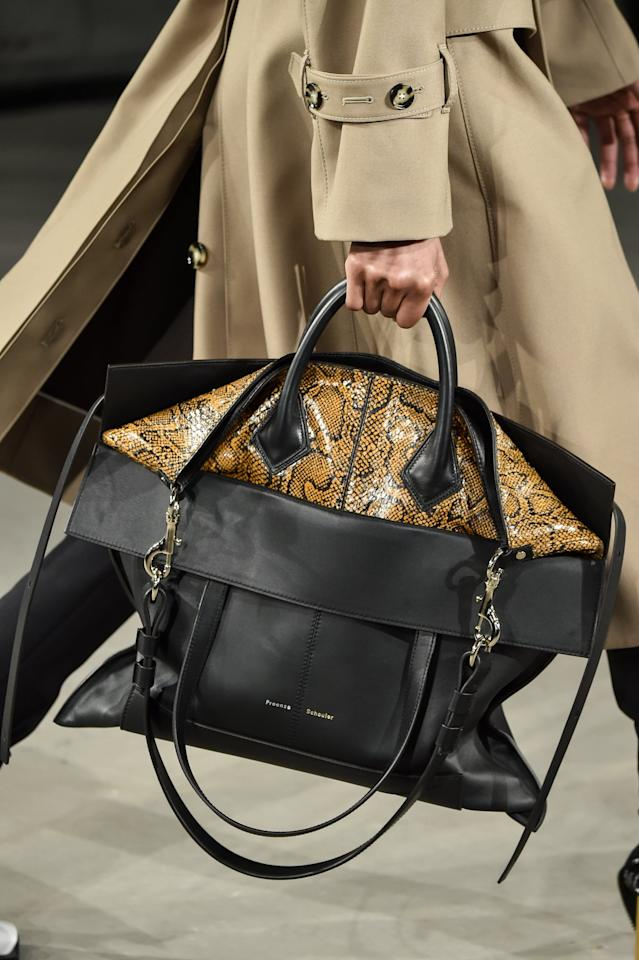 <p>A Proenza Schouler Bag on the Runway at New York Fashion Week </p>