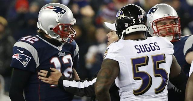 Terrell Suggs has one simple reason for why Tom Brady is still playing at a high level in his 40s.