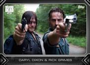 Daryl Dixon (Norman Reedus) and Rick Grimes (Andrew Lincoln)