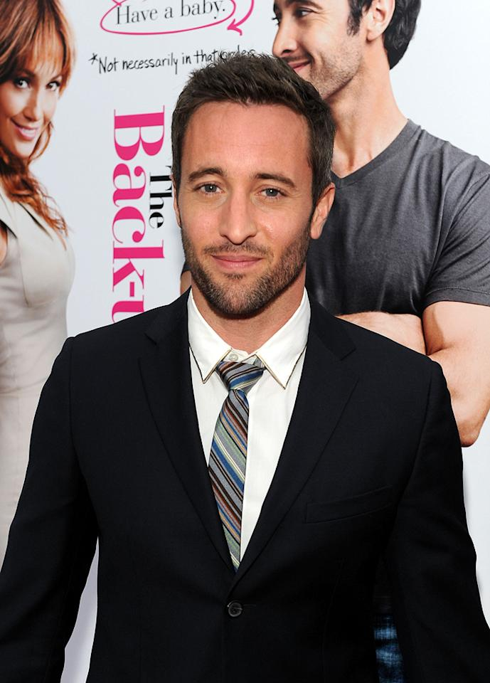 """<a href=""""http://movies.yahoo.com/movie/contributor/1809670545"""">Alex O'Loughlin</a> at the Los Angeles premiere of <a href=""""http://movies.yahoo.com/movie/1810107558/info"""">The Back-up Plan</a> - 04/21/2010"""