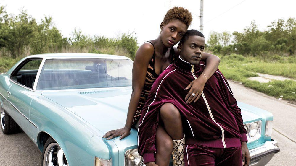 Jodie Turner-Smith and Daniel Kaluuya in 'Queen & Slim' (Universal)