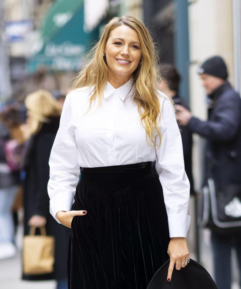 <p>Lively first became a recognizable face in <em>The Sisterhood of the Traveling Pants</em> (2005), but she became a household name when she took on the role of Serena van der Woodsen in <em>Gossip Girl </em>(2007-2012). </p>