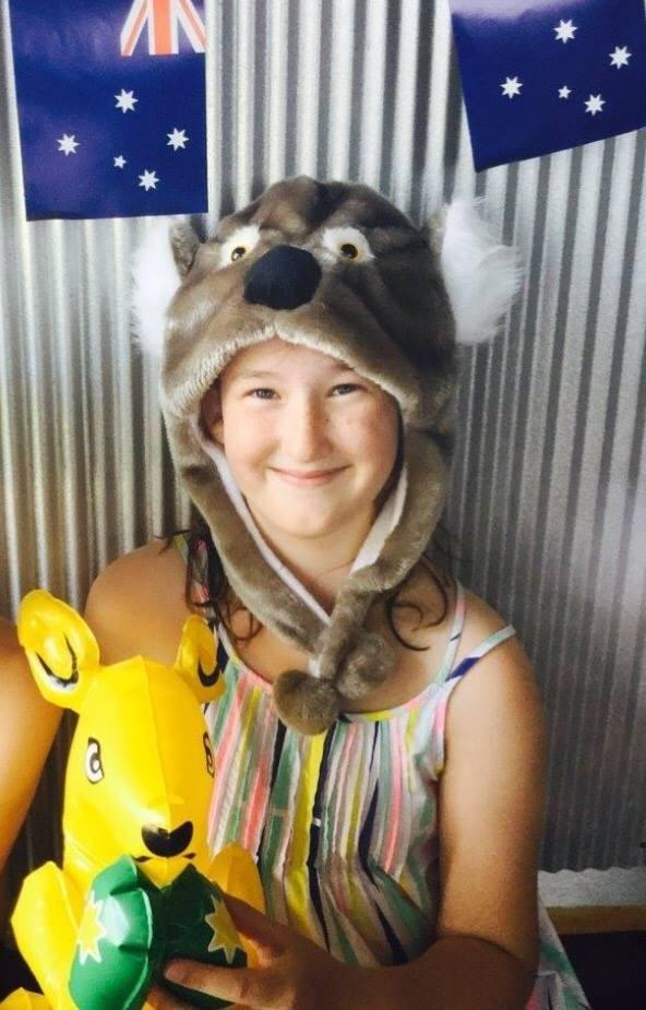 Sophie had a stroke when she was just four-years-old. Photo: Facebook
