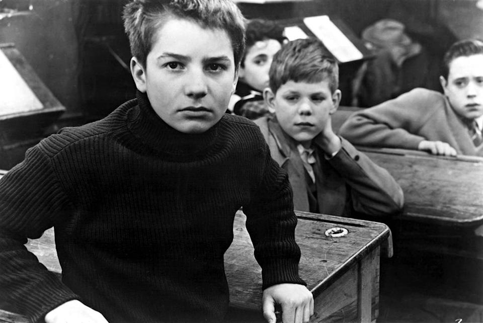 """<a href=""""http://movies.yahoo.com/movie/the-400-blows/"""" data-ylk=""""slk:THE 400 BLOWS"""" class=""""link rapid-noclick-resp"""">THE 400 BLOWS</a> (1959) <br>Directed by: <span>Francois Truffaut</span> <br>Starring: <span>Jean-Pierre Leaud</span>, <span>Patrick Auffay</span> and <span>Claire Maurier</span>"""