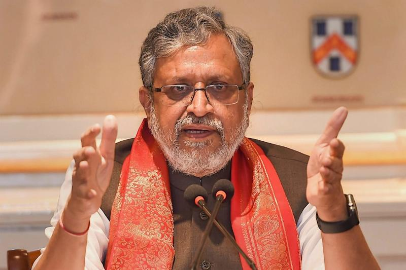 Sushil Modi Sends Swab Sample for Covid-19 Test After Attending Event With Infected BJP Leader