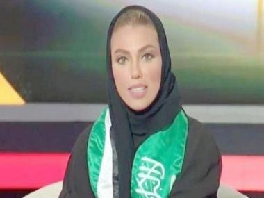 Weam Al-Dakheel becomes first woman in Saudi Arabia to deliver evening news bulletin on state-owned TV channel