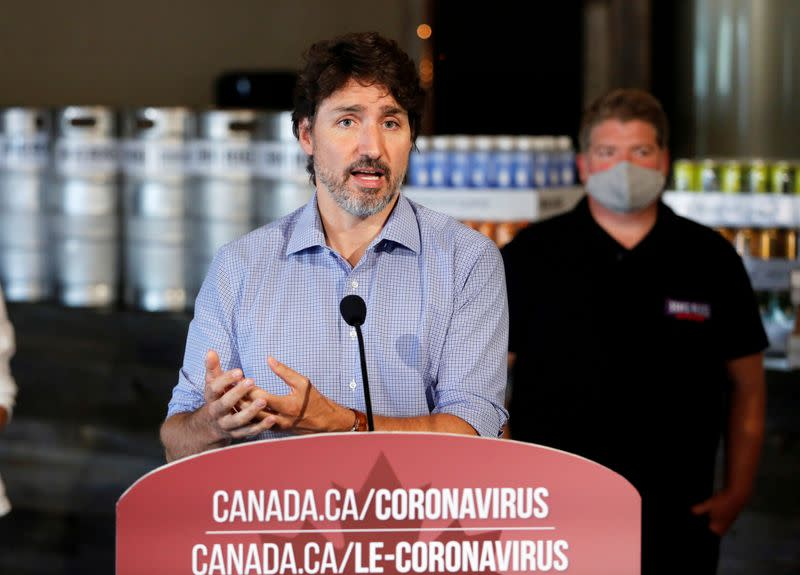 Canada's Trudeau faces third ethics probe over charity grant program