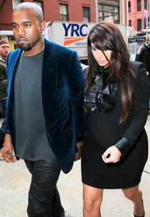 Did Kanye West Announce Kim Kardashian's Due Date?