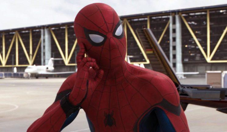 Nope, not Spider-Sense. Sorry. Credit: Sony