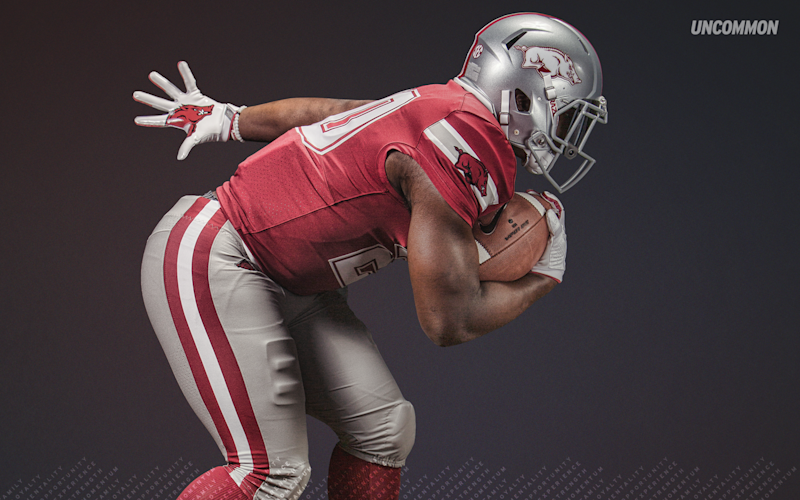 Arkansas Wearing Cowboys-Style Jerseys for Game at AT&T Stadium
