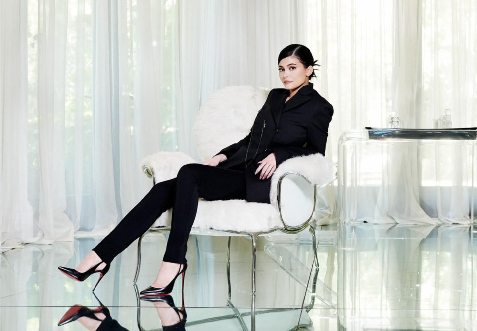Kylie Jenner covers Forbes' America's Female Billionaires issue. [Photo: Forbes/JamelToppin]