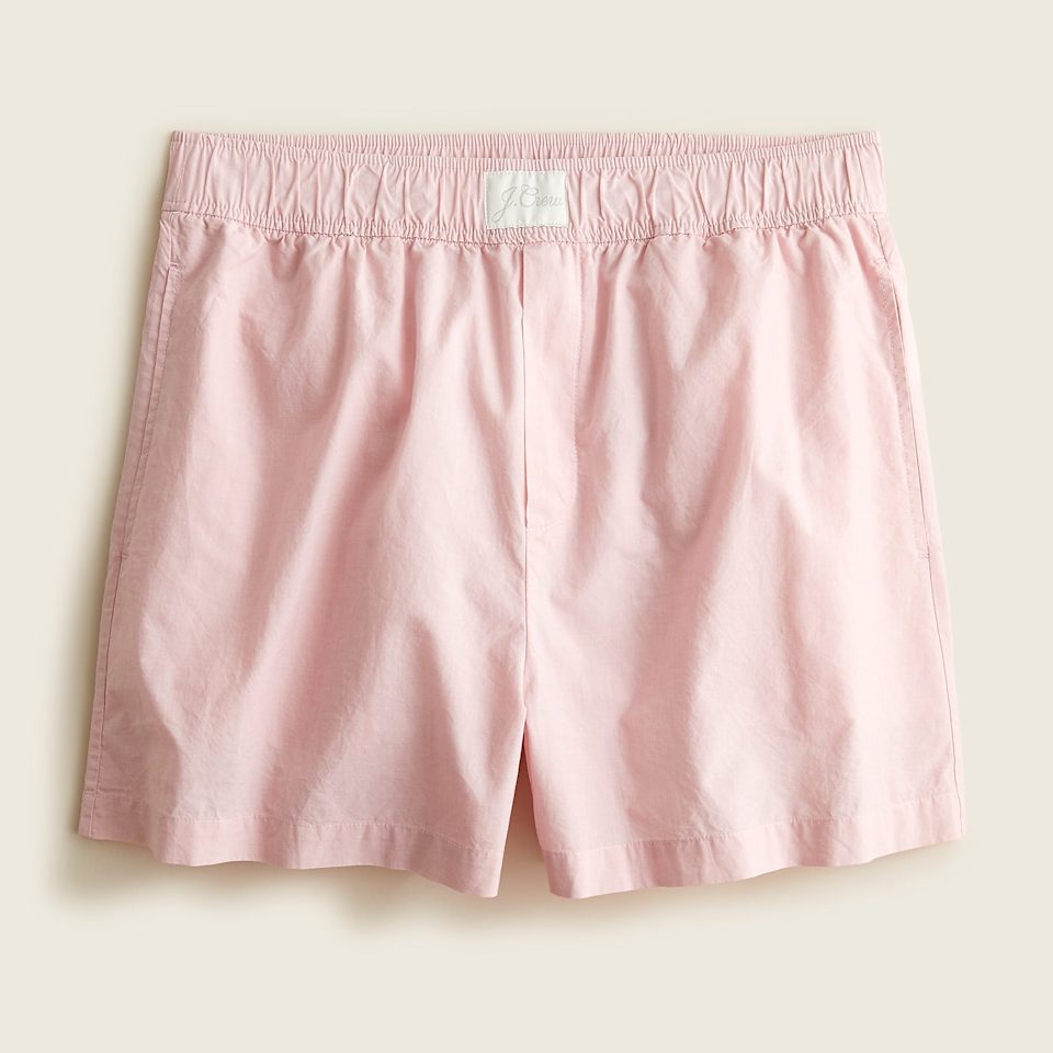 """<br><br><strong>J.Crew</strong> End-On-End Cotton Boxer Short, $, available at <a href=""""https://go.skimresources.com/?id=30283X879131&url=https%3A%2F%2Fwww.jcrew.com%2Fp%2Fwomens%2Fcategories%2Fclothing%2Fpajamas-and-intimates%2Fpajama-bottoms%2Fend-on-end-cotton-boxer-short%2FAY350"""" rel=""""nofollow noopener"""" target=""""_blank"""" data-ylk=""""slk:J.Crew"""" class=""""link rapid-noclick-resp"""">J.Crew</a>"""