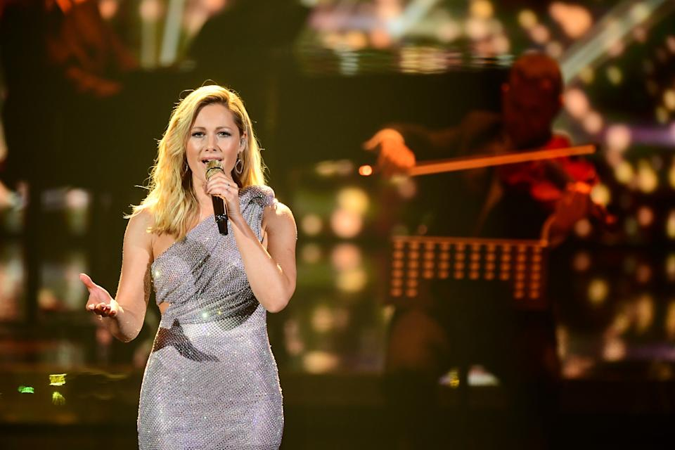 BERLIN, GERMANY - DECEMBER 05: Helene Fischer performs on stage during the