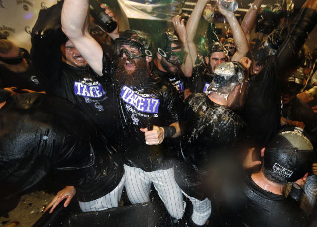 The Rockies have already made moves in an attempt to make a deep playoff run. (AP Photo/David Zalubowski)