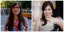 <p>America Ferrera and her character Betty Suarez from<em> Ugly Betty</em> might share long dark hair, but that's pretty much the extent of it. While Betty is always seen in braces and red glasses, Ferrera is more glamorous, mature and put-together in the public eye.</p>