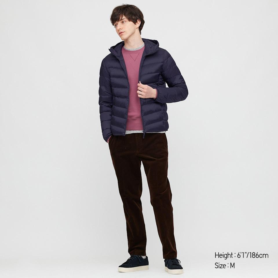 "<p>uniqlo.com</p><p><strong>$69.90</strong></p><p><a href=""https://go.redirectingat.com?id=74968X1596630&url=https%3A%2F%2Fwww.uniqlo.com%2Fus%2Fen%2Fmen-ultra-light-down-parka-429282.html&sref=https%3A%2F%2Fwww.townandcountrymag.com%2Fstyle%2Fmens-fashion%2Fnews%2Fg986%2Fgift-ideas-for-men%2F"" rel=""nofollow noopener"" target=""_blank"" data-ylk=""slk:Shop Now"" class=""link rapid-noclick-resp"">Shop Now</a></p><p>Uniqlo's Parka is the ultimate layering piece: it's waterproof and can pack down into a pocket if needed. </p>"
