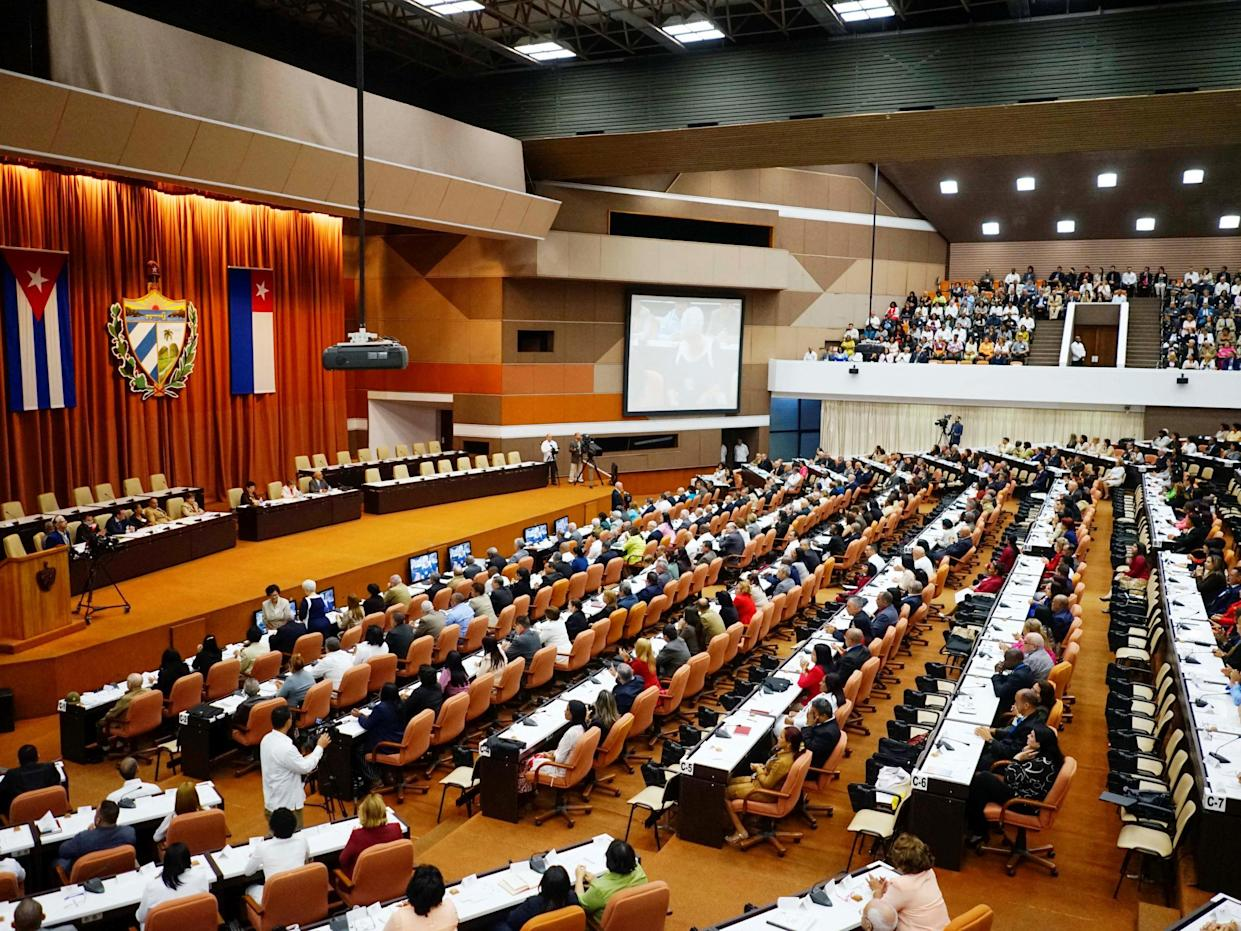 The changes to the 1976 constitution are expected to be approved at a national assembly vote next week and then put to a referendum for final approval later this year (file photo): Reuters