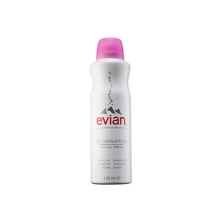 "<p>I'm usually going from the locker room to somewhere else, so this product always help me to feel extra fresh out of the gym shower."" - Aaron Kurlander, Digital Visuals Editor</p><p>Evian Mineral Water Spray, $13, <a rel=""nofollow"" href=""http://www.sephora.com/mineral-water-spray-P2043?mbid=synd_yahoolife"">sephora.com</a></p>"