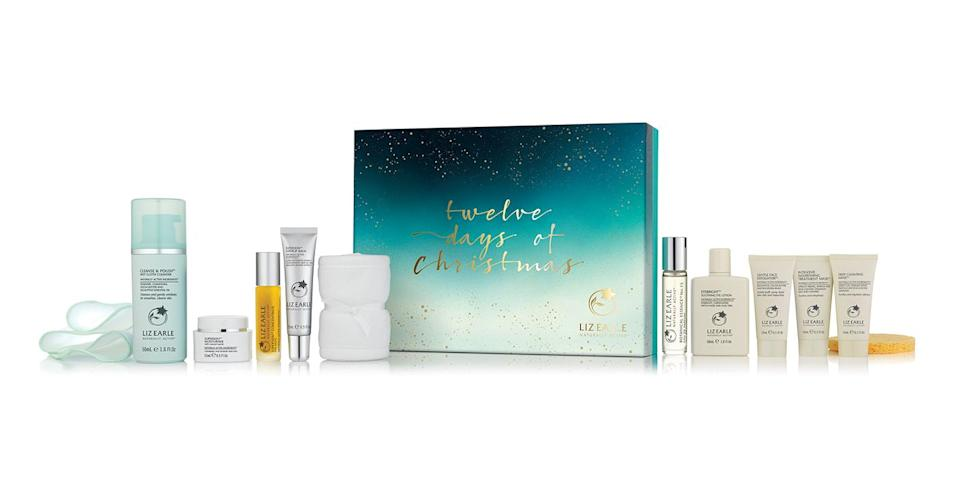 <p>Boasting iconic skincare essentials such as a mini Cleanse and Polish Hot Cloth Cleanser and an Eyebright Soothing Eye Lotion, this Liz Earle calendar is worth every penny of its £66. <em>Available at Liz Earle, Boots, John Lewis and QVC. </em> </p>