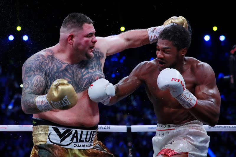 Beaten Ruiz wants Joshua rematch but others ahead in line