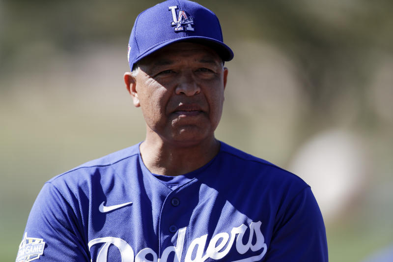 Dodgers manager Dave Roberts says United States must listen and engage in meaningful conversation before real change can occur. (AP Photo/Gregory Bull)