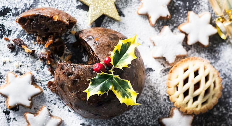 Christmas dinner features some rather calorific treats [Image: Getty]