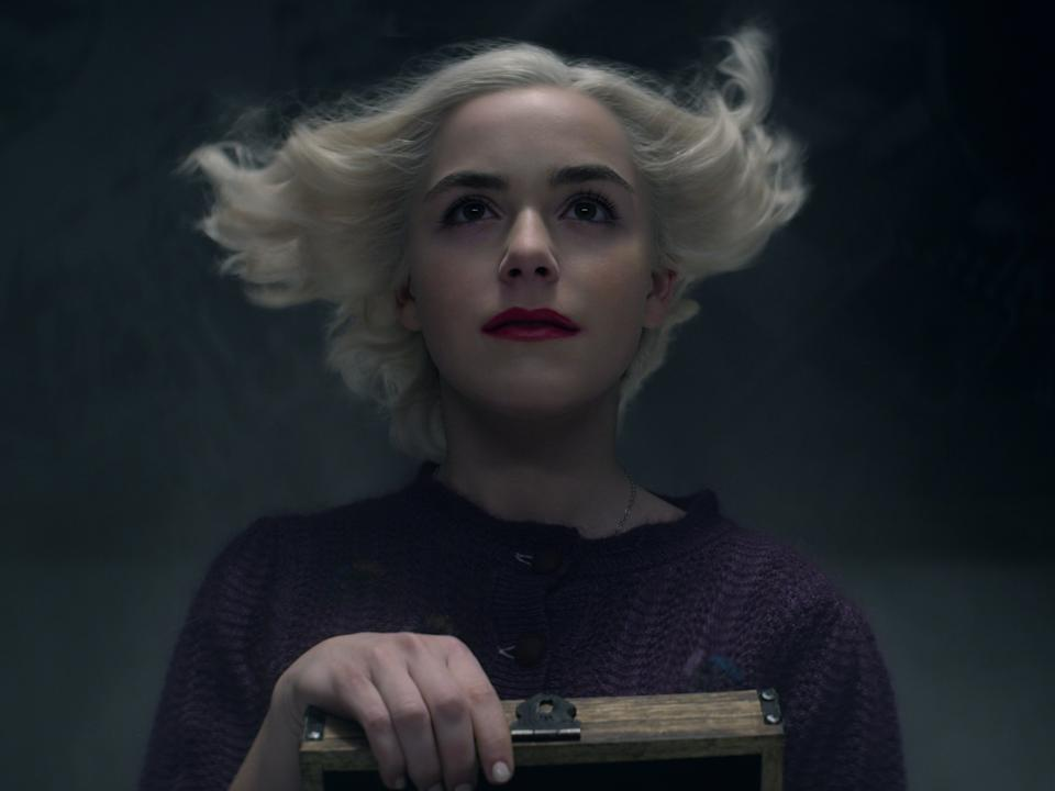Kiernan Shipka in part fourt of 'Chilling Adventures of Sabrina'Courtesy of Netflix