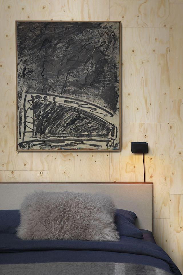 "<p>Introducing wood into a space is a fail-safe way to add warmth and cosiness. Pale timbers like birch bring a Scandi simplicity, but there's no need to get the drill out – this plywood-effect paper does the job without the DIY.</p> <p><strong>Piet Hein Eek</strong> PHM-37 Plywood Wallpaper, £199 per 10 metre roll, available at <a href=""https://www.rockettstgeorge.co.uk/phm-37-plywood-wallpaper-by-piet-hein-eek-46559-p.html"" rel=""nofollow noopener"" target=""_blank"" data-ylk=""slk:Rockett St George"" class=""link rapid-noclick-resp"">Rockett St George</a></p>"