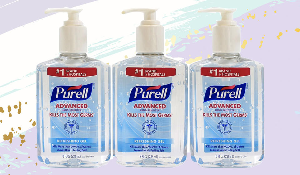 This Purell gel will leave your hands feeling swell and leave no yucky smell. Amazon's ready to sell. Well? (Photo: Amazon)