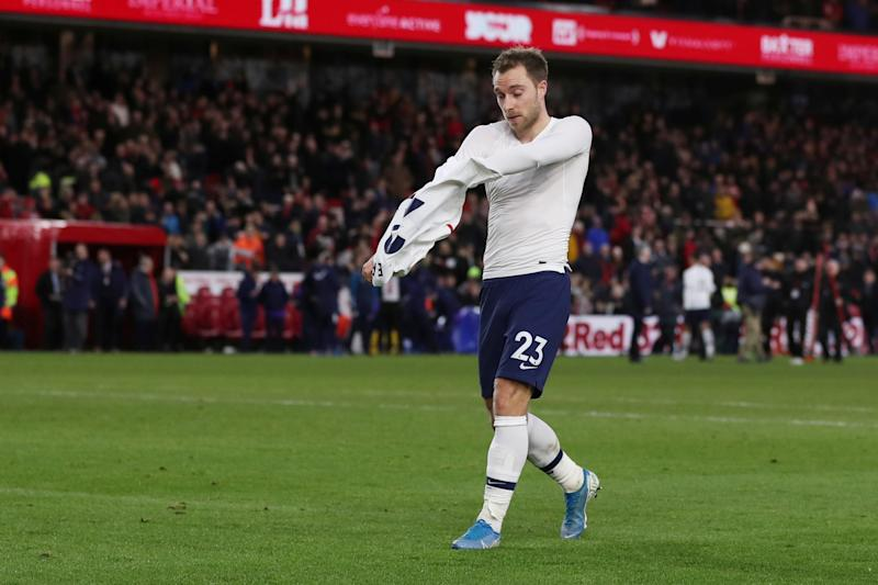 Christian Eriksen's move to Inter Milan appears imminent. (Reuters/Lee Smith)
