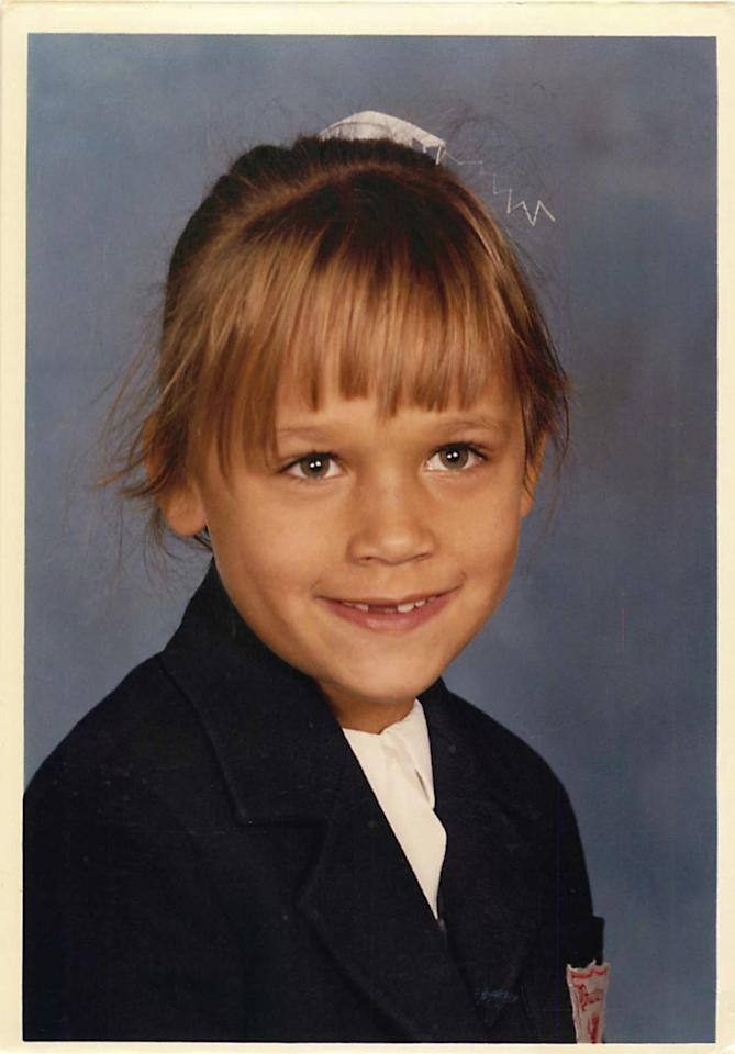 """<a target=""_blank"" href=""https://twitter.com/iamrashidajones/status/230286524929945602/photo/1"">Photo #1</a>: Starting with 1982. What is up with my bangs. Hadn't hit awkward yet. Trust me, you'll see..."""