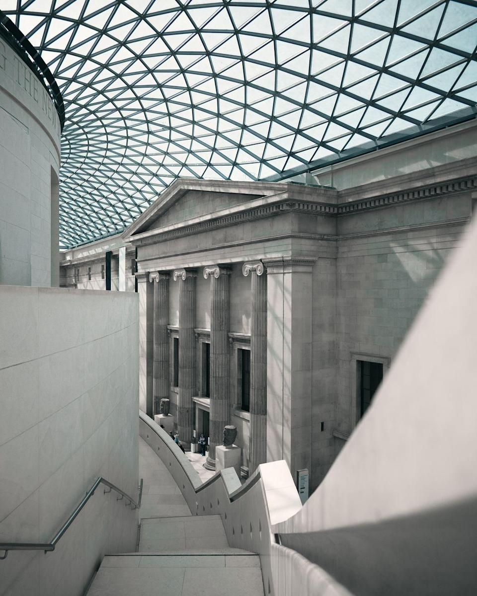 """<p>London is a cultural hub just waiting to be explored, and what better way to dive into history than by using the resources on offer at the British Museum? Older than the United States itself, this museum contains one of the most important collections in the world, illustrating the evolution of man from his beginnings to present day. Scroll through the ages as you explore art, history, religion, conflict and more. </p><p><a class=""""link rapid-noclick-resp"""" href=""""https://britishmuseum.withgoogle.com/"""" rel=""""nofollow noopener"""" target=""""_blank"""" data-ylk=""""slk:Take a virtual tour"""">Take a virtual tour </a></p>"""