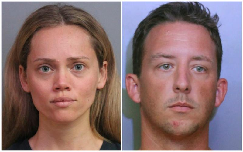 A Florida woman turned in her husband's guns after his domestic violence arrest. Police arrested her for theft