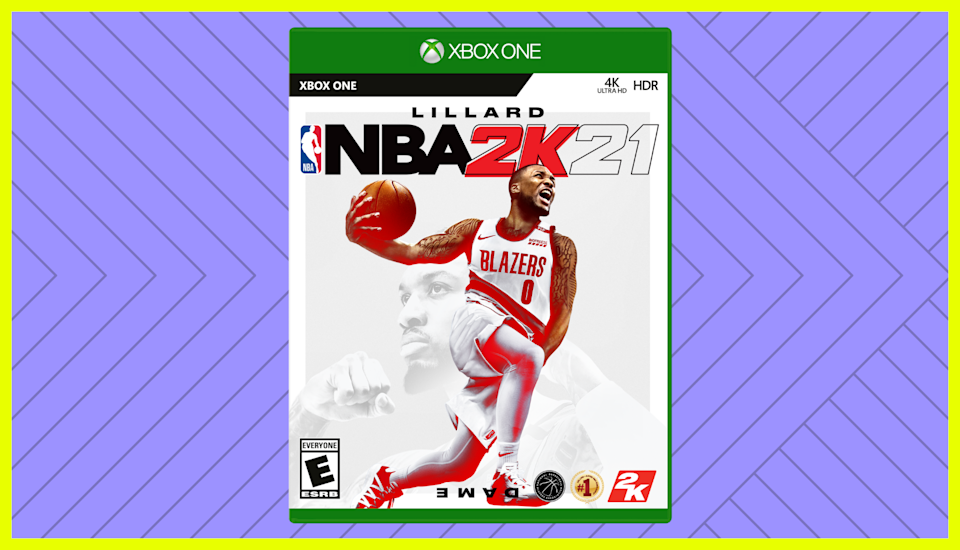 Save 51 percent on NBA 2K21 for Xbox One. (Photo: Amazon)