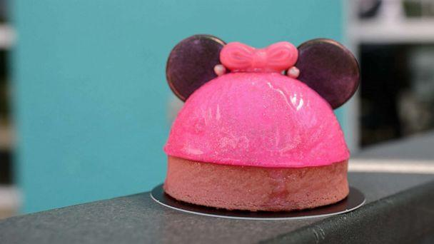 PHOTO: In this undated photo, the Imagination Pink tart is shown. (Disney Parks)