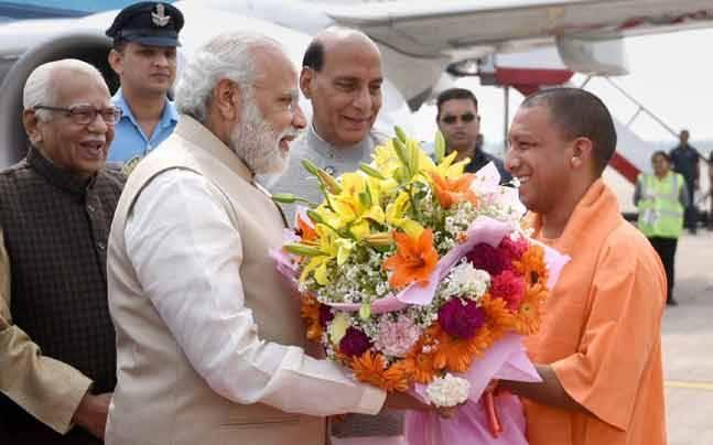 CM Yogi chants mantra of rajdharma, says poverty, law-order will be priorities