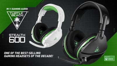 Turtle Beach Stealth 600 Wireless Headset Noted as a Top 5 Gaming Headset of the Decade
