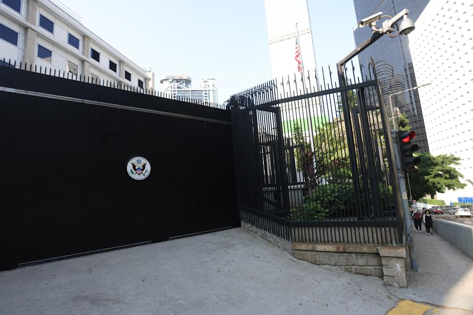 The US consulate in Hong Kong. Photo: Nora Tam