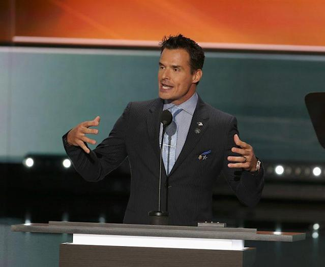 Antonio Sabato Jr., seen here at the Republican National Convention in July, is running for office in California. (Photo: Tasos Katopodis/WireImage)